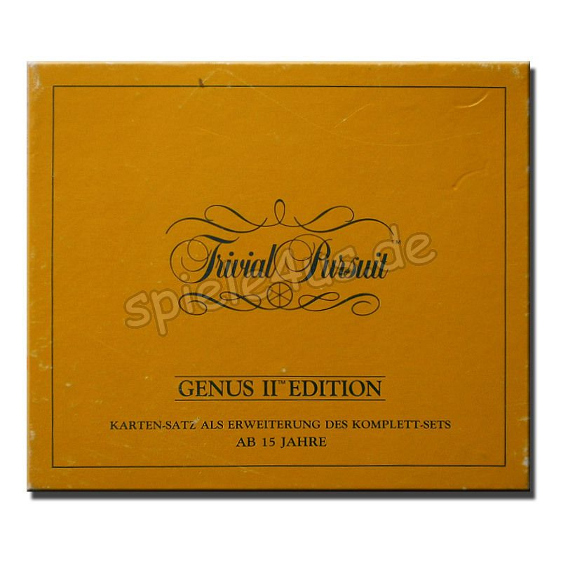 800x800 Trivial Pursuit Genus II Edition 730080 - gebraucht Parker
