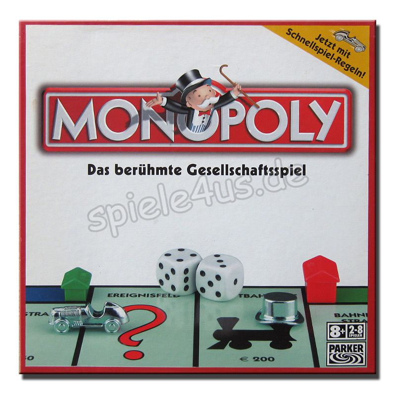 800x800 Monopoly Classic 00009100 gebraucht Parker