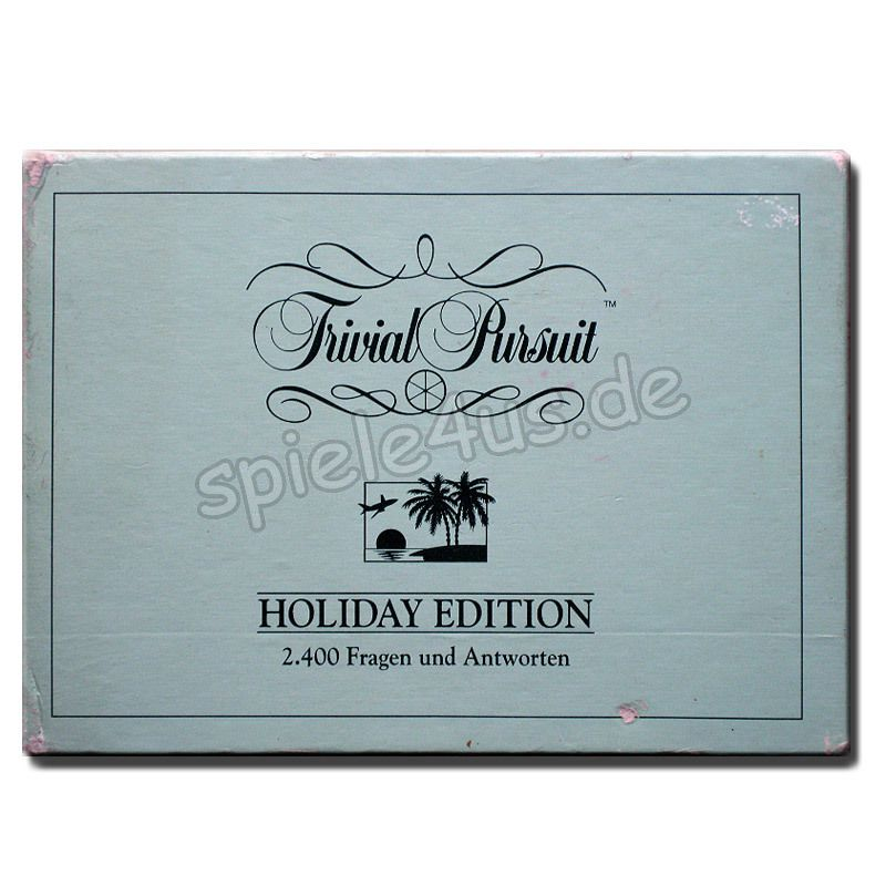 800x800 Trivial Pursuit Holiday Edition gebraucht Parker