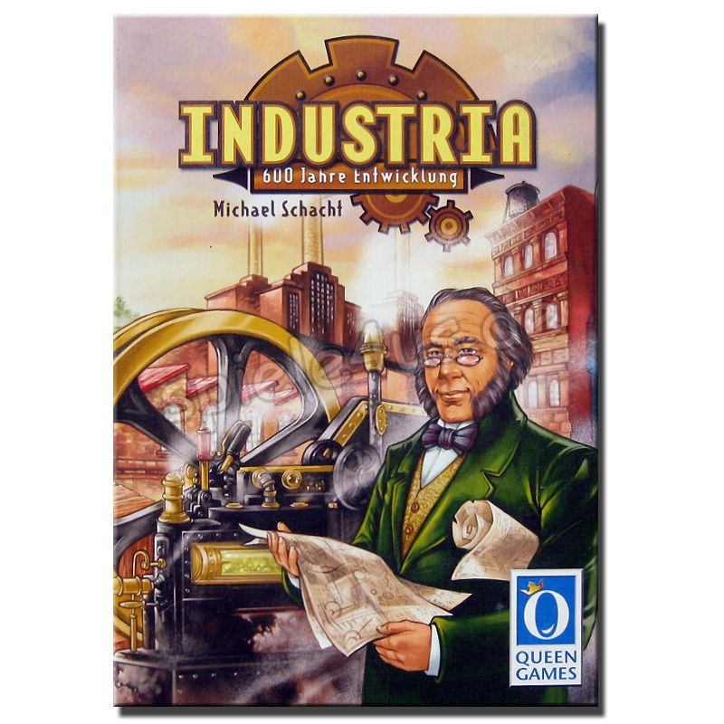 800x800 Industria gebraucht Queen Games