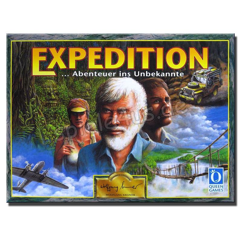 800x800 Expedition Queen Games gebraucht Queen Games
