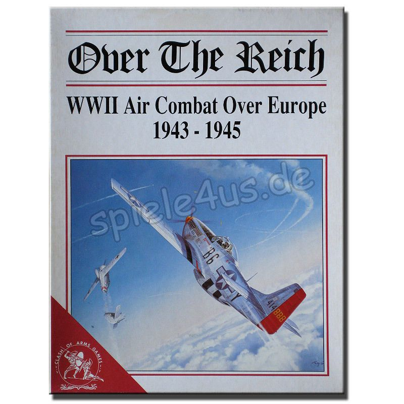 800x800 Over the Reich WWII Air Combat Europe ENGLISCH gebraucht Clash of Arms Games