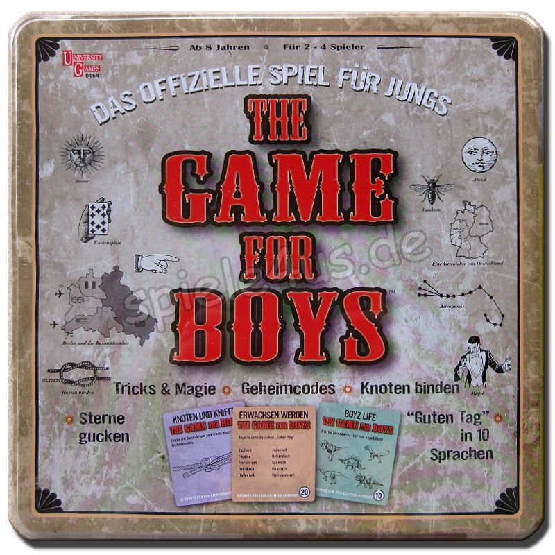 800x800 The Game for boys University Games