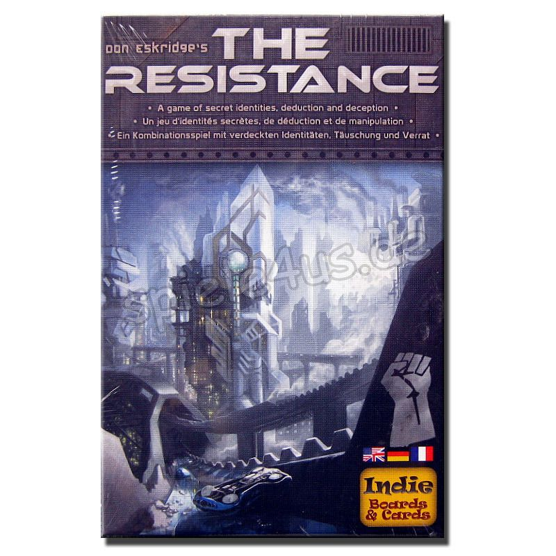 800x800 The Resistance dt./engl./frz. Indie Boards and Cards