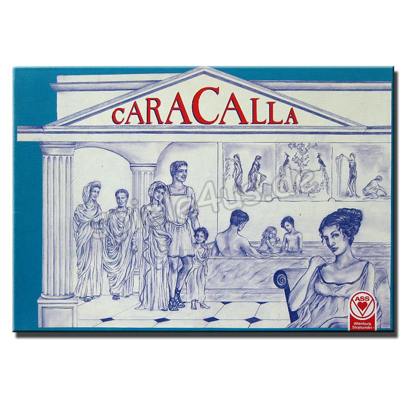 800x800 Caracalla gebraucht ASS Altenburger Spielkarten