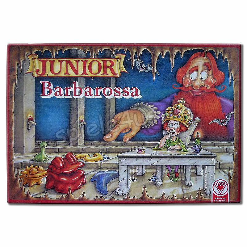 800x800 Junior Barbarossa gebraucht ASS Altenburger Spielkarten