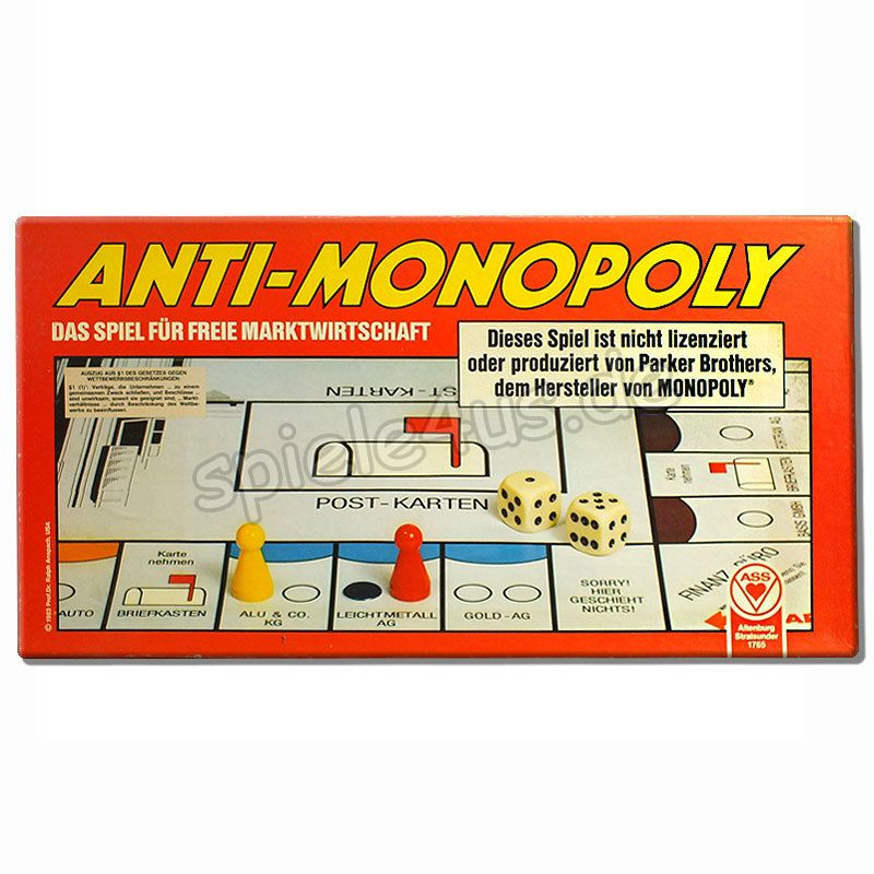 800x800 Anti-Monopoly gebraucht ASS Altenburger Spielkarten