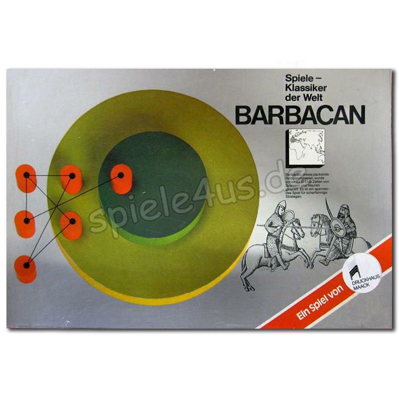 800x800 Barbacan gebraucht ASS Altenburger Spielkarten