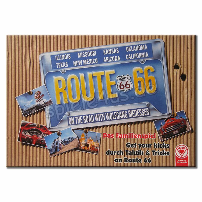 800x800 Route 66 gebraucht ASS Altenburger Spielkarten