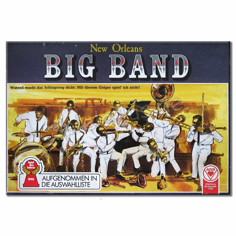 800x800 New Orleans Big Band gebraucht ASS Altenburger Spielkarten