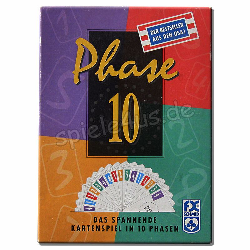 Phase 10 Spielanleitung Video