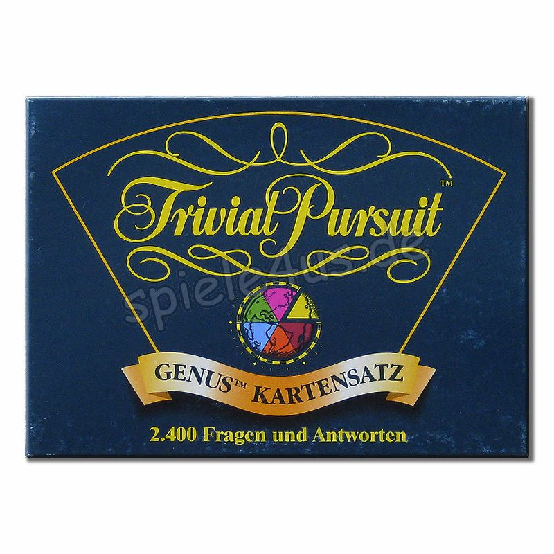Trivial Pursuit Kartensatz