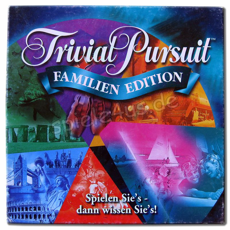 Trivial Pursuit Familien Edition Anleitung