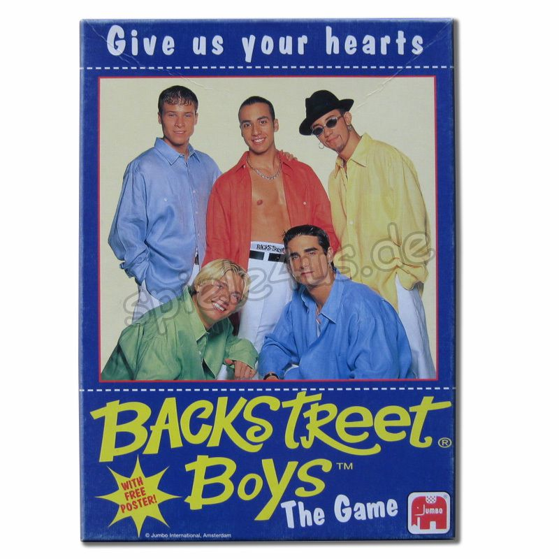 800x800 Backstreet Boys The Game gebraucht JUMBO Spiele