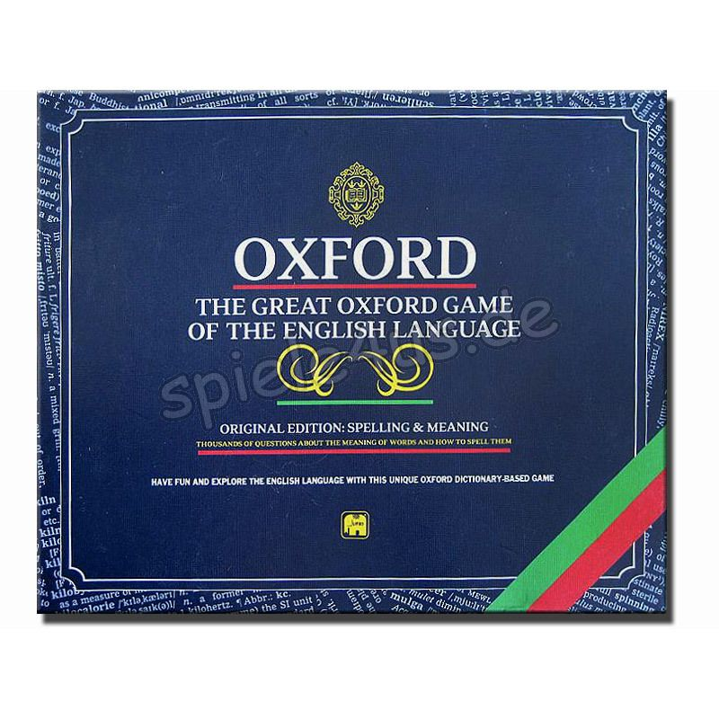 800x800 Oxford The Great Oxford Game of the English Language gebraucht JUMBO Spiele