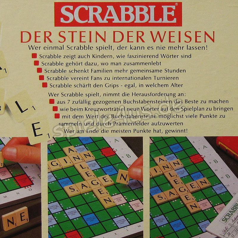 Scrabble Original Holz
