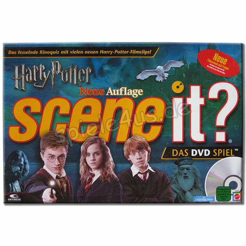 800x800 Harry Potter Scene it 2 DVD Brettspiel gebraucht Mattel