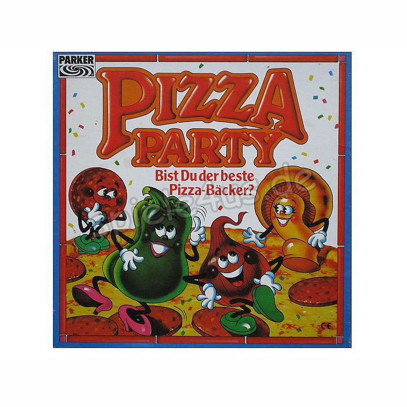 800x800 Pizza Party gebraucht Parker