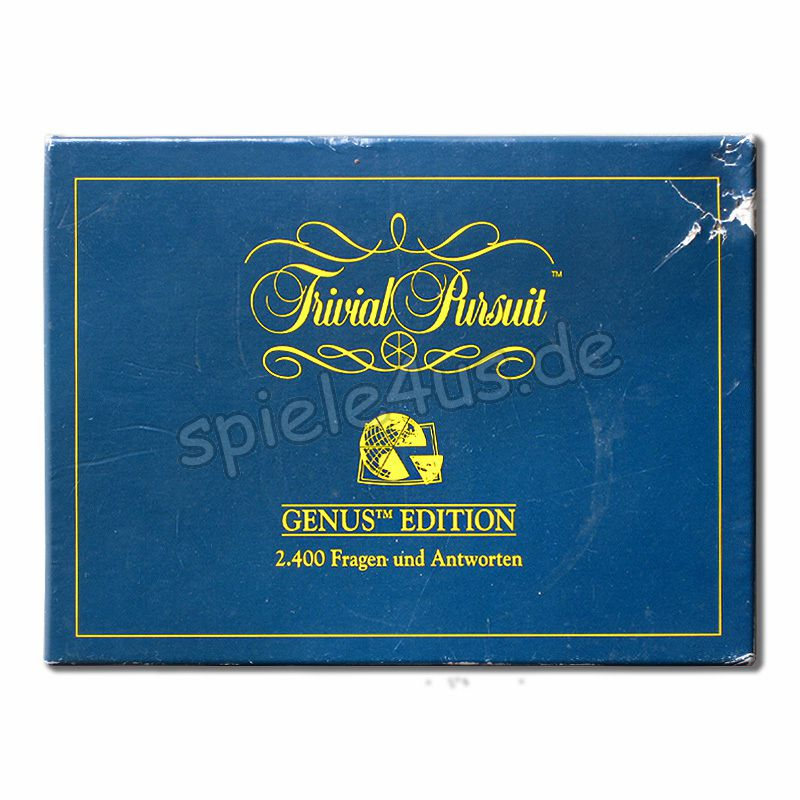 800x800 Trivial Pursuit Genus Edition 19603100 gebraucht Parker