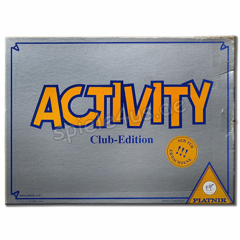 Activity Club Edition Anleitung