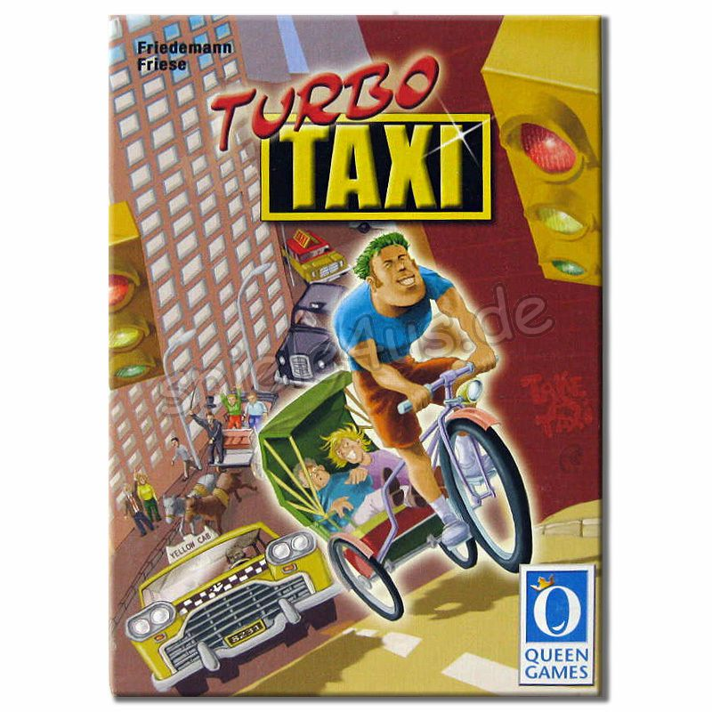 800x800 Turbo Taxi gebraucht Queen Games
