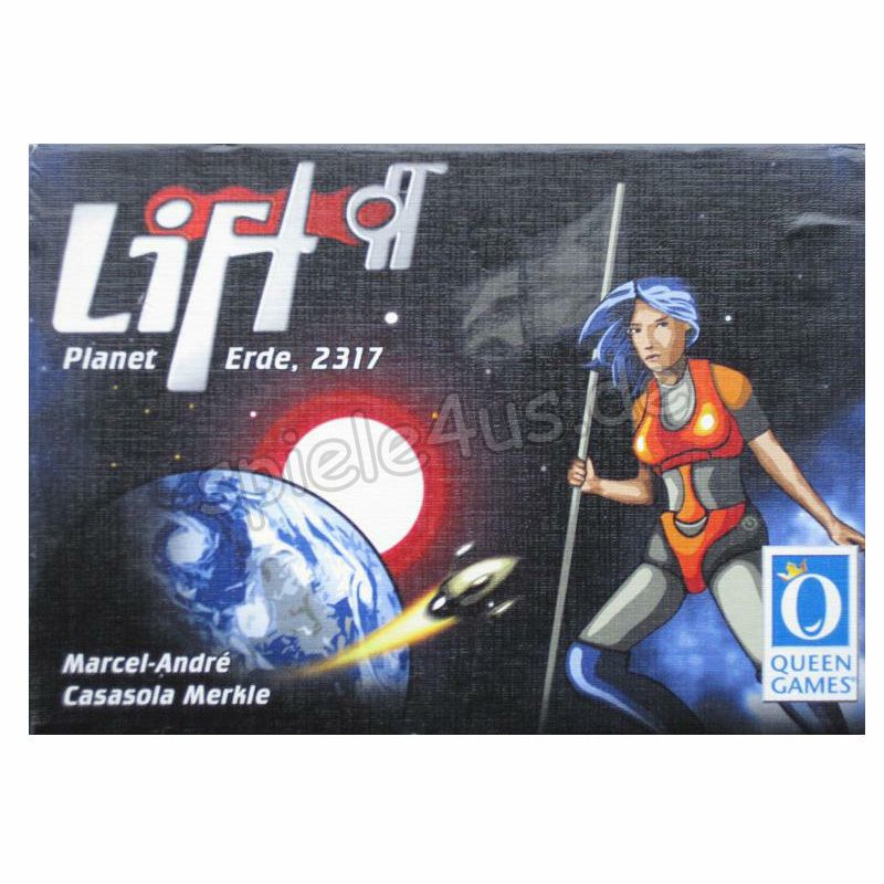 800x800 Lift off gebraucht Queen Games