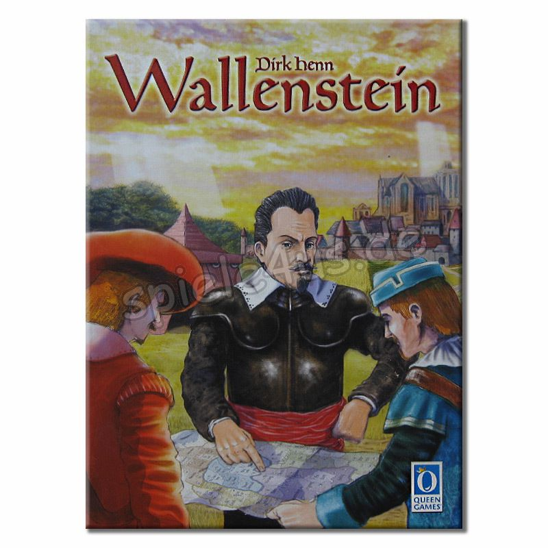 800x800 Wallenstein 6023 gebraucht Queen Games