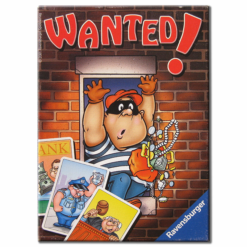 Wanted Spiel
