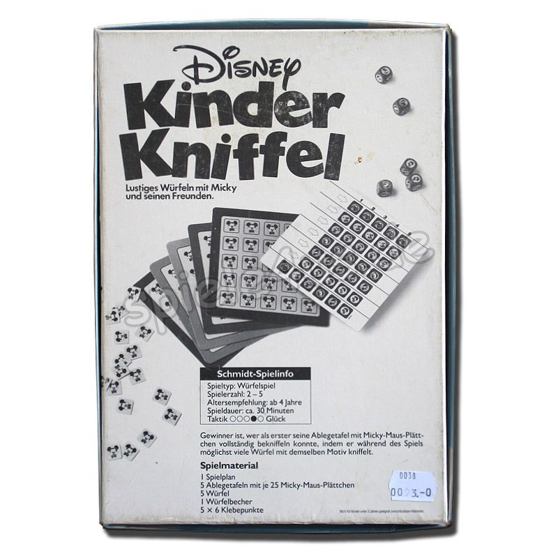 disney kinder kniffel versandkostenfrei kaufen. Black Bedroom Furniture Sets. Home Design Ideas