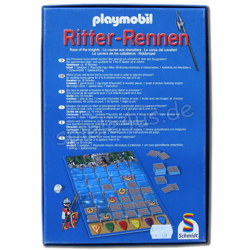 playmobil ritterrennen spiel kaufen. Black Bedroom Furniture Sets. Home Design Ideas