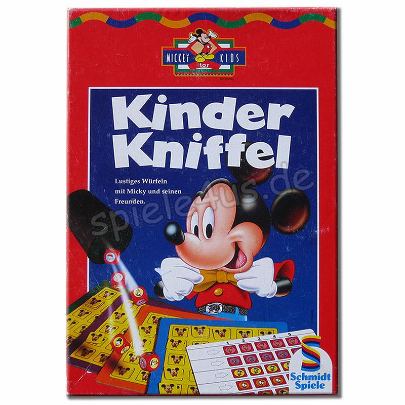 kinder kniffel spiel kinder kniffel kaufen bei spiele4us. Black Bedroom Furniture Sets. Home Design Ideas