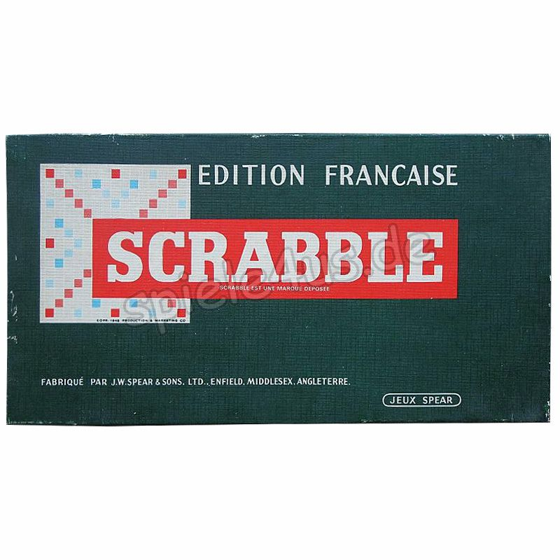 800x800 Scrabble Edition Francaise gebraucht Spear Spiele