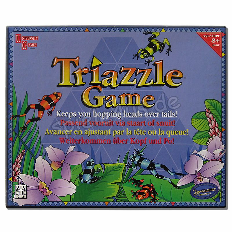 800x800 Triazzle Game gebraucht University Games