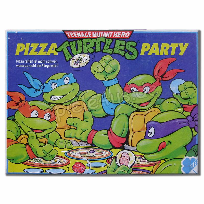 800x800 Pizza Turtles Party gebraucht Klee