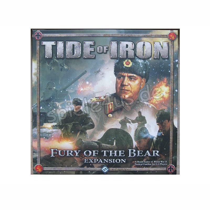 800x800 Tide of Iron Fury of the Bear Expansion gebraucht Fantasy Flight Games