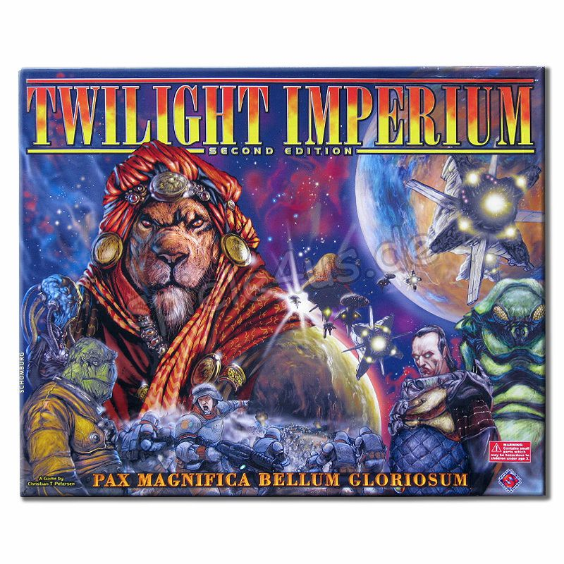 800x800 Twilight Imperium Second Edition ENGLISCH gebraucht Fantasy Flight Games