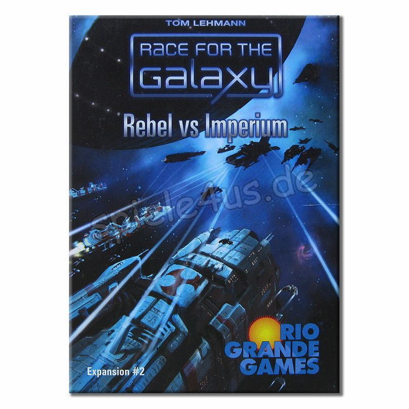 800x800 Race for the Galaxy Rebellen vs Imperium Expansion gebraucht Rio Grande Games