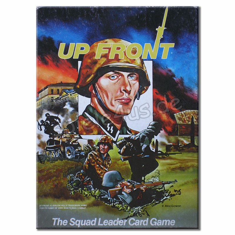 800x800 Up Front The Squad Leader Card Game gebraucht Avalon Hill