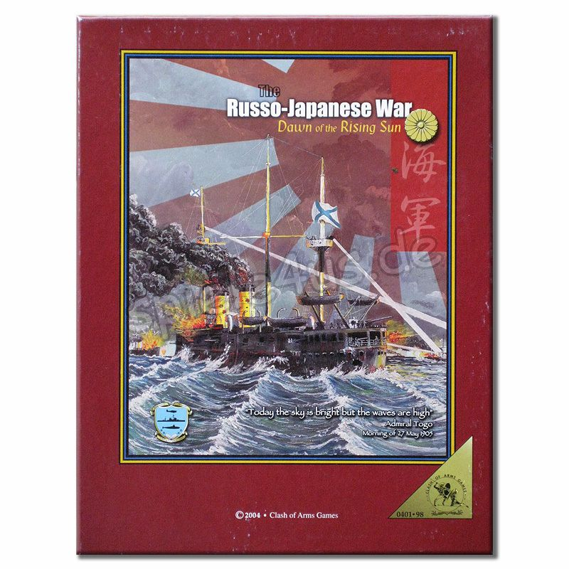 800x800 The Russo-Japanese War gebraucht Clash of Arms Games