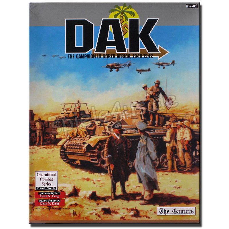 800x800 DAK The Campaign in North Africa gebraucht The Gamers Inc.