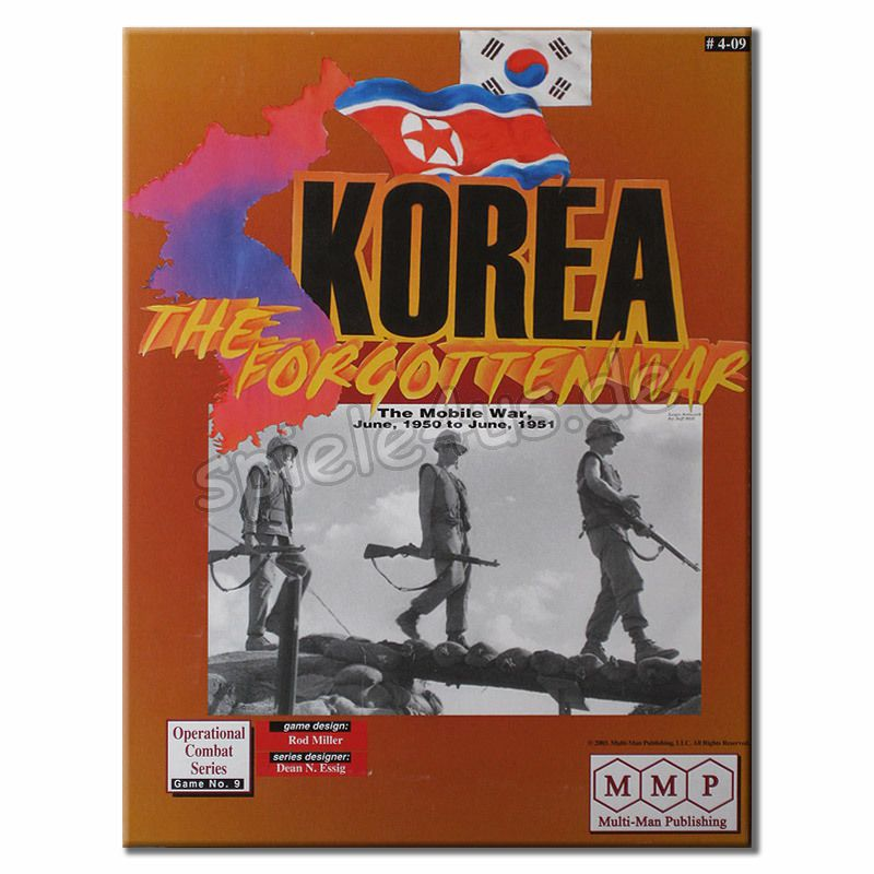 800x800 Korea The Forgotten War gebraucht Multi Man Publishing