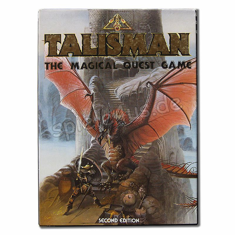 800x800 Talisman The Magical Quest Game 2nd Edition gebraucht Games Workshop Ltd.