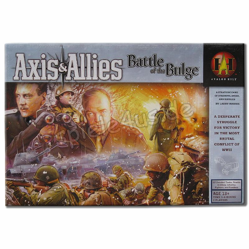800x800 Axis & Allies Battle of the Bulge ENGLISCH gebraucht Avalon Hill/Hasbro