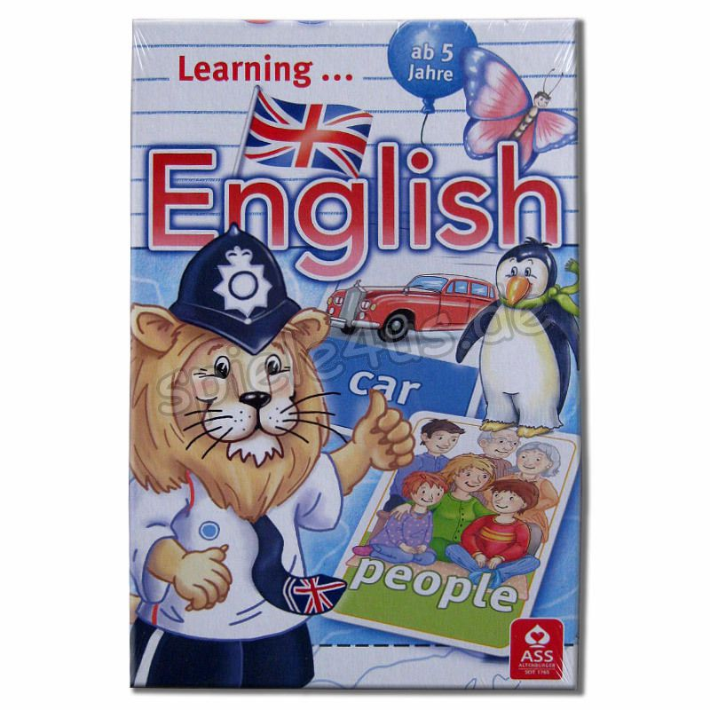 800x800 Learning English ASS Altenburger Spielkarten
