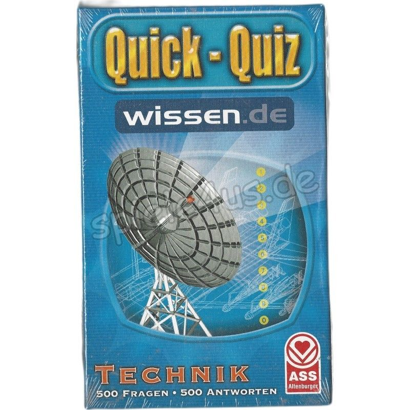 800x800 Quick-Quiz Technik ASS Altenburger Spielkarten