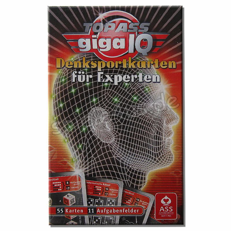 800x800 Top ASS Giga IQ Experten ASS Altenburger Spielkarten