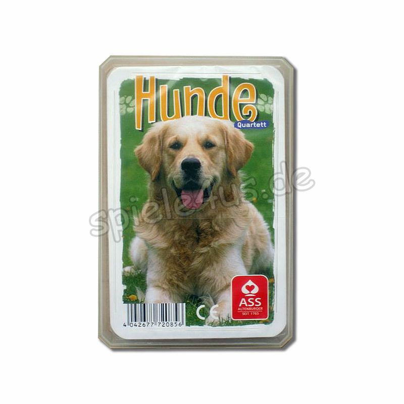 800x800 Quartett Hunde ASS Altenburger Spielkarten