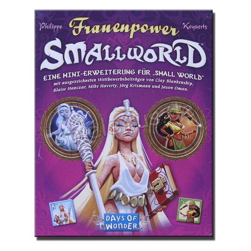 800x800 Small World Frauenpower Days of Wonder