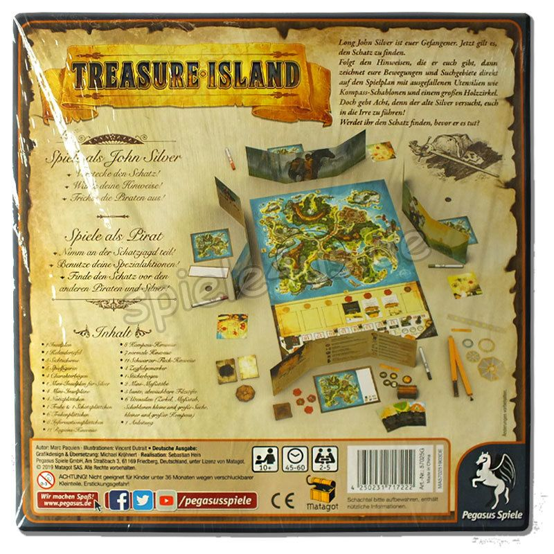 Treasure Island Pegasus