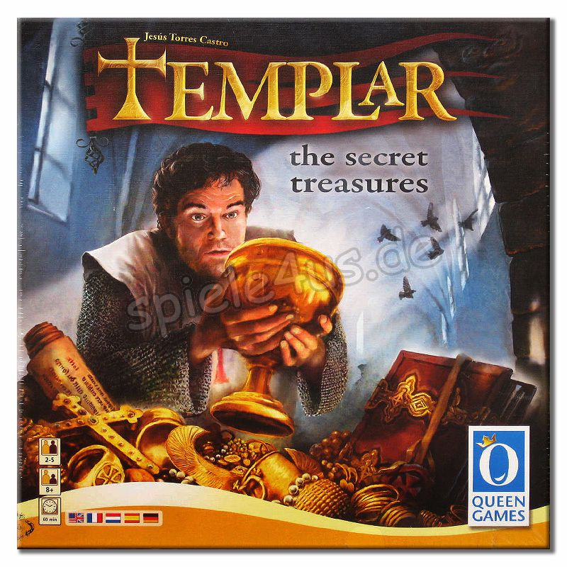 800x800 Templar The Secret Treasures Queen Games